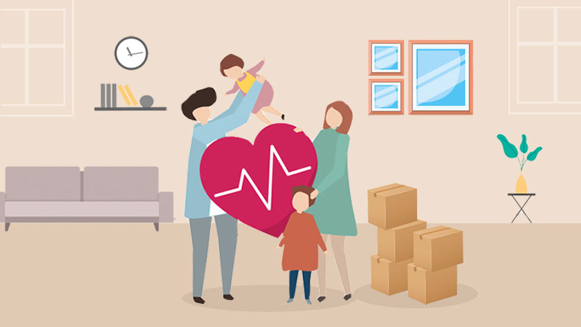 taking care of your and family health during relocation
