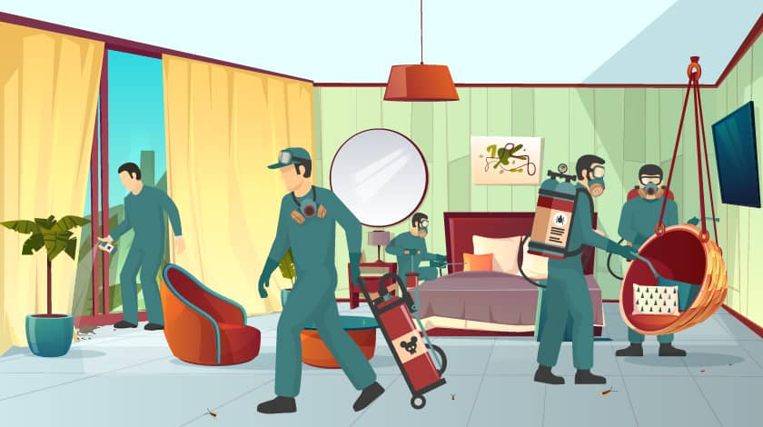 Cheap and Best Pest Control Services in Delhi