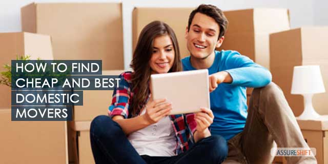 How to Find cheap and best movers for domestic relocation in India