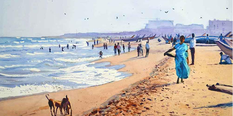Places to Live Chennai Beach