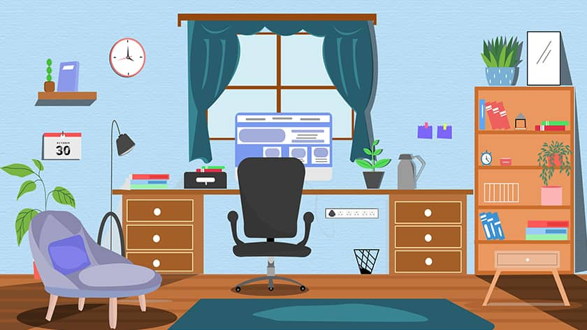 Tips to Easily Renovate and Set up Home Office in Budget