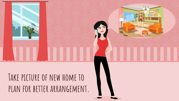 Take Few Pictures of your New Home Before Move