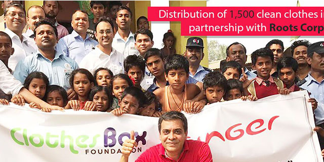 Clothes Box Foundation