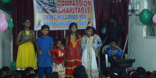 Compassion Charitable Trust celebrating children's days