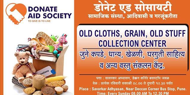 Donate Aid Society