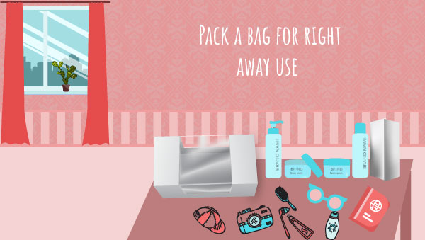 Prepare a Transparent Bag with Things You Need While or After Move