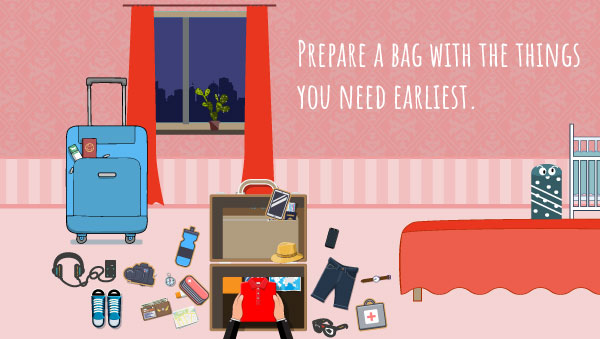 Prepare an Overnight Bag