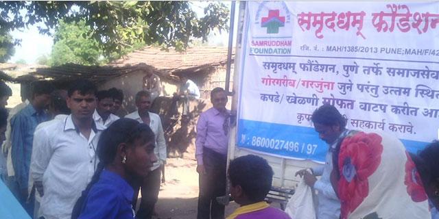 Samruddham Foundation Donation Team