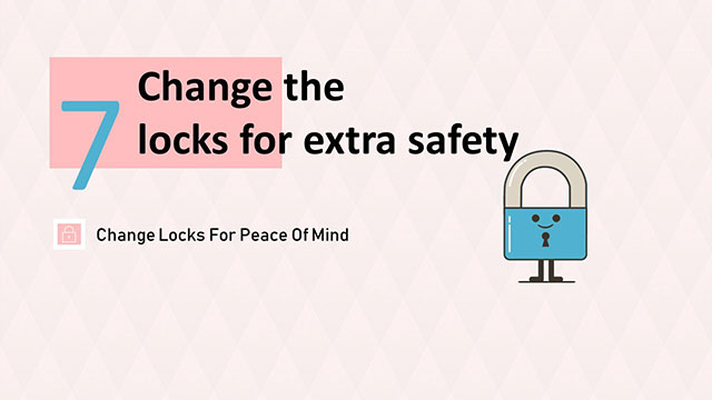Change Main Door Locks for Extra Safety