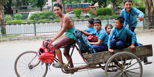 Children Going From Street to School With Chetna NGO Lucknow