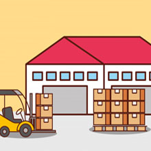 Clean and Secure Storage Warehouse by Packers and Movers Kharadi