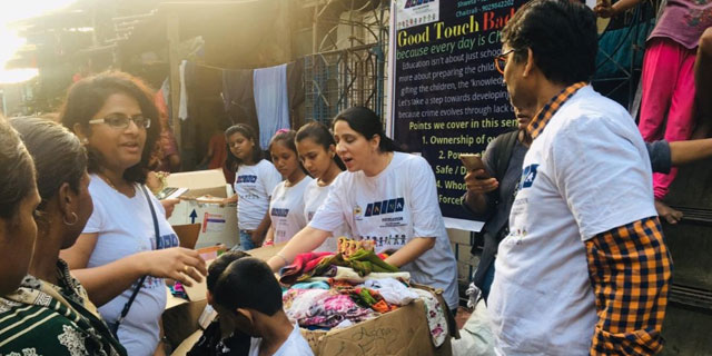 Clothes Donation Campaign Conducted By Aarna Foundation Thane