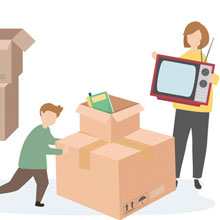 Domestic Home Relocation Movers and Packers From Rohini Delhi