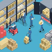 Insured and Secure Storage Warehouse Services in Surat