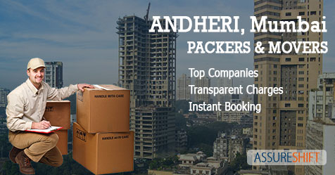 Local and Domestic Household Shifting Packers & Movers in Andheri Mumbai