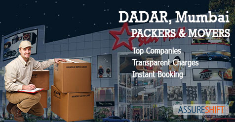 Local and Domestic Household Shifting Packers & Movers in Dadar Mumbai