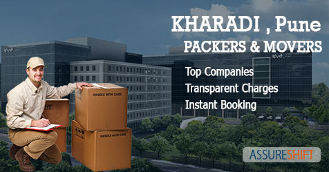Local and Domestic Household Shifting Packers & Movers in Kharadi Pune