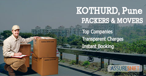 Local and Domestic Household Shifting Packers & Movers in Kothrud Pune