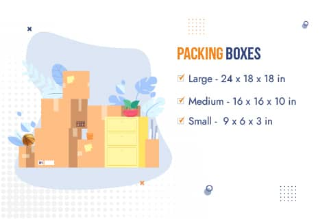 Movers and Packers Navi Mumbai Packaging Material