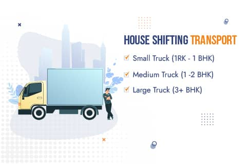 Packers and Movers Noida Truck Sizes