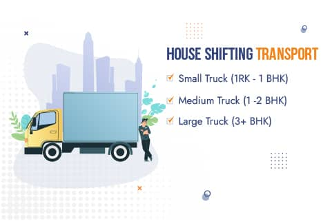 Packers and Movers Patna Truck Sizes