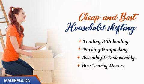 Packers and Movers Madinaguda Hyderabad