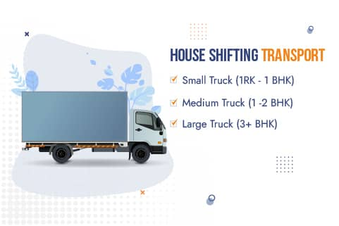 Packers and Movers Navi Mumbai Truck Sizes