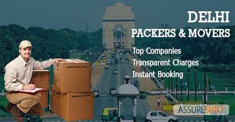 Professional Movers & Packers in Delhi at economical charges