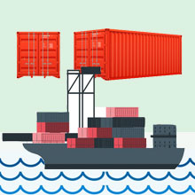 Secure cargo shipping services from Delhi NCR