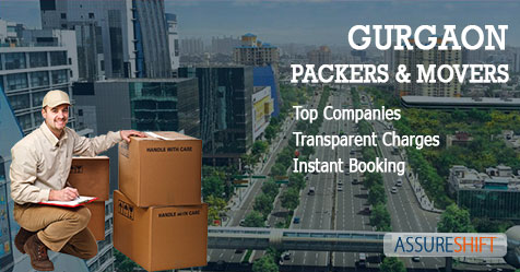 Trusted Packers and Movers Gurgaon at Best Shifting Charges