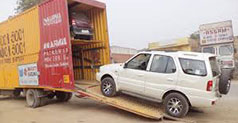 Car Transportation from Ghaziabad to other Indian City
