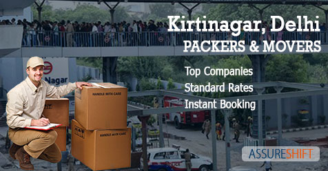 Packers and Movers in Kirtinagar New Delhi