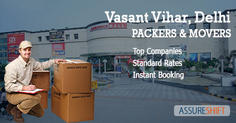 Packers and Movers in Vasant Vihar Delhi