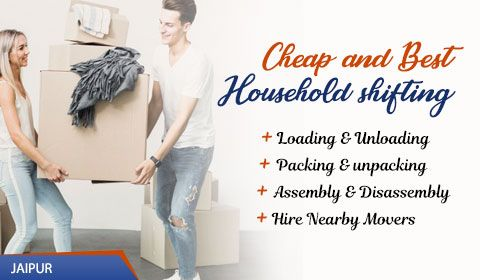 Packers and Movers Jaipur, Rajasthan