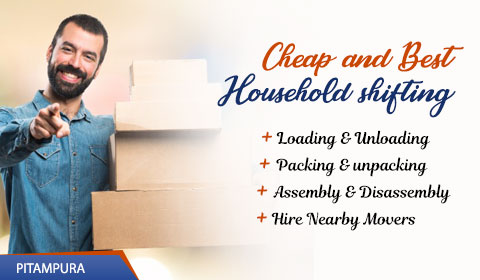 Packers and Movers Pitampura, Delhi
