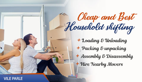 Packers and Movers Vile Parle Mumbai