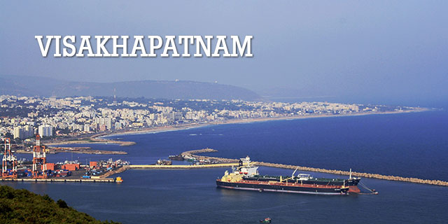 Visakhapatnam - A Eastern Beach Side City in Andhra Pradesh