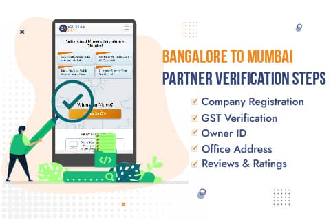AssureShift Packers and Movers Bangalore to Mumbai Partner Verification