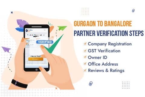AssureShift Packers and Movers Gurgaon to Bangalore Partner Verification