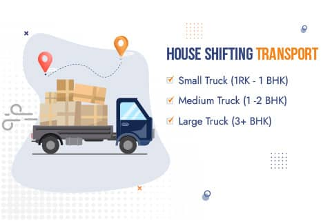 Packers and Movers Pune to Mumbai House Shifting Transport