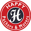 Happy Packers And Movers Logo