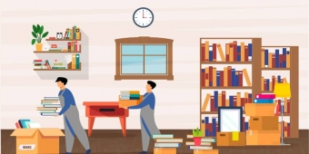 How to Move Books Safely