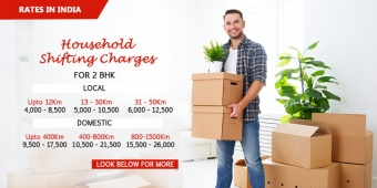Packers and Movers Charges