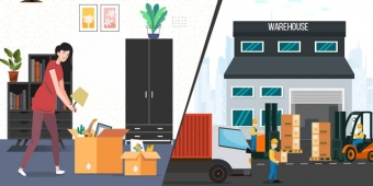 Prepare Household Items Before Storing in Warehouse