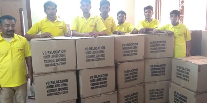 All Over India Reliable Packing and Moving Services in Chennai