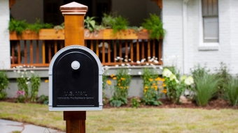 changed address mailbox of new house after shifting