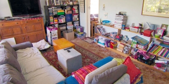 Declutter home before moving